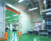 Indoor partition / interlock with conveyer